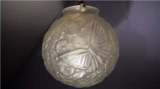 Hettier et Vincent French Art Deco Ceiling Light c1925