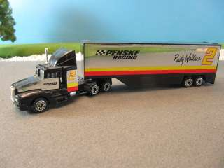 Diecast Tractor Trailer Transport Penske #2 Rusty Wallace 1144
