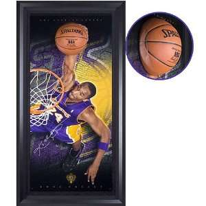 Kobe Bryant Autographed Los Angeles Lakers #24 Vertical