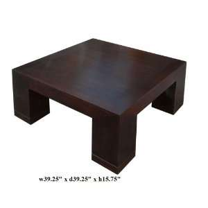 Fine Brown Fusion Square Coffee Cocktail Table Ass854