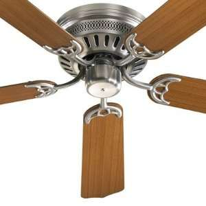 Quorum 11525 65 Custom Hugger Satin Nickel Flush Mount 52 Ceiling Fan
