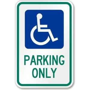 LYLE HC OH01 12HA Parking Sign, High Intensity Prismatic