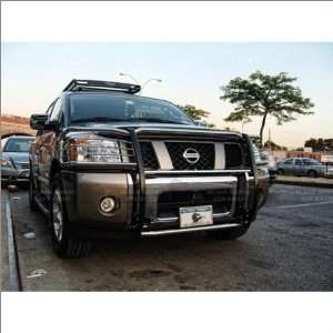 05 11 Nissan Armada Black Horse Stainless Steel Grill
