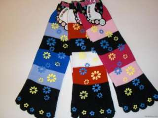 Pair New HEART BUTTERFLY TOE SOCK Wholesale MIX Lot