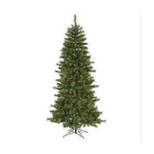 Pre Lit Slim Newport Mixed Pine Artificial Christmas Tree   Clear
