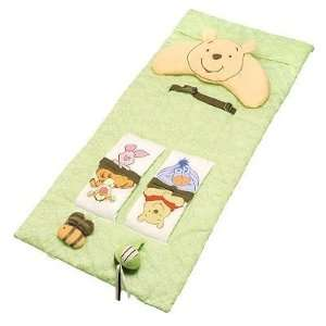 Classic Winnie the Pooh 2 in 1 Shopping Cart Cover and Play Mat Baby