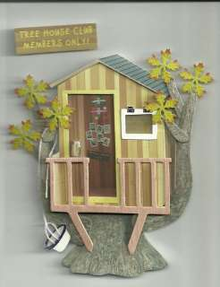 AMERICAN GIRL KIT 3 D TREE HOUSE STICKER SCRAPBOOKING