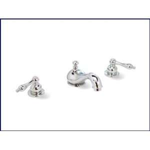 Polished Chrome Bathroom Lavatory Faucet   Widespread