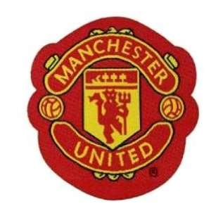 MANCHESTER UNITED embroidery iron on patch, 6.8cm x 7.5cm (2.75x2.5)