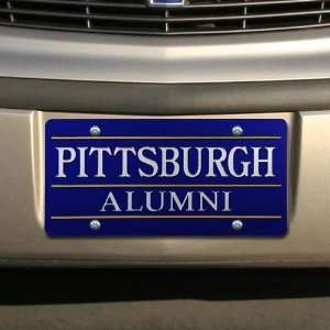NCAA Pittsburgh Panthers Royal Blue Mirrored Alumni