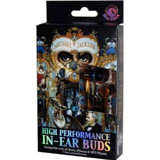 Michael Jackson Dangerous Ear Bud Headphones