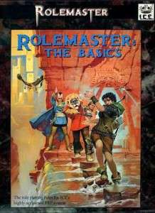 Iron Crown Boxed Set ROLEMASTER THE BASICS VF
