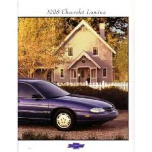1998 CHEVROLET LUMINA Sales Brochure Literature Book