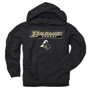 Boilermakers Youth Black Lingo Hooded Sweatshirt