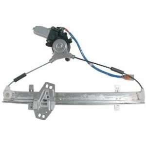 Honda Accord Sedan Front Power Window Regulator with Motor