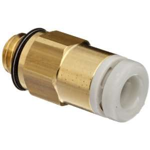 SMC KQ2 Series Brass Push to Connect Tube Fitting, Connector, 3.2mm