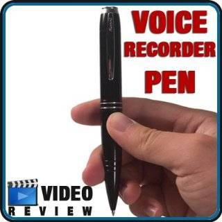 Voice Recorder   USB Digital Voice Recorder Spy Pen, 2GB