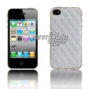 VMG Apple iPhone 4S Ultra Thin Design Case Cover 2 ITEM COMBO White