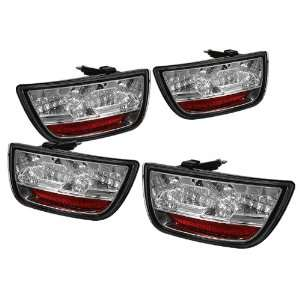 Chevy Camaro 2010 2011 LED Tail Lights + Hi Power White LED Backup