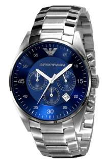 Emporio Armani Mens Stainless Steel Bracelet Band Watch