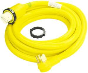 NEW 50 AMP 35 FOOT RV POWER CORD W/ INDICATOR LIGHT