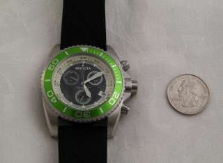 Invicta Green Adrenaline Mens Chronograph Watch # 5788~ALL OFFERS
