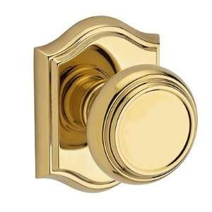 Baldwin PV.TRA.003 Lifetime Polished Brass Privacy Traditional Knob