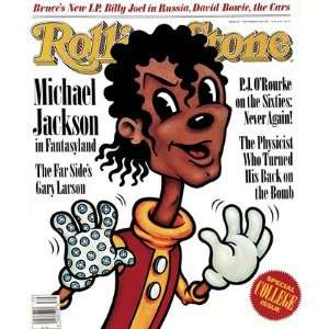 Michael Jackson (illustration), 1987 Rolling Stone Cover