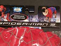 New Spider Man 3 Cat Dog Costume Size Small S 8 11 lbs