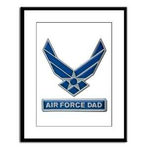 Large Framed Print Air Force Dad
