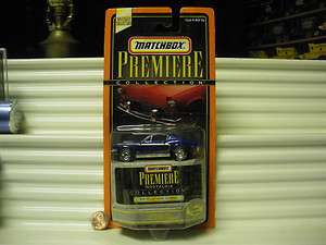 1998 PREMIERE NOSTALGIA COLLECTION 1968 BLUE MUSTANG COBRA MINT BOXED
