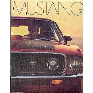 1969 Ford Mustang Sales Brochure Books