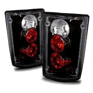 00 05 Ford Excursion Black Tail Lights Automotive