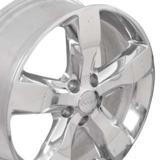2011 Jeep Grand Cherokee OEM Wheels Rims Polished 20x8