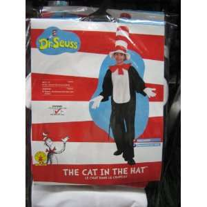 Dr. Seuss Cat in the Hat Halloween Costume Toys & Games