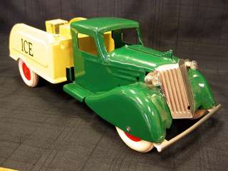1930s Wyandotte Pressed Steel Ice Delivery Truck Toy