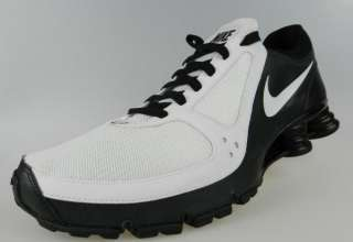Mens White Black iPod Ready Running Shoes Size 13 883153254700