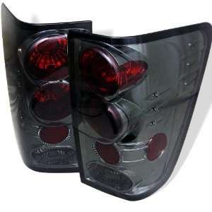 Nissan Titan 04 06 Altezza Tail Lights   Smoked