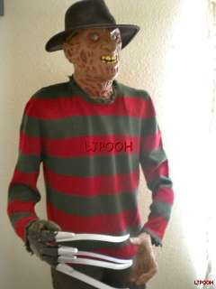 ANIMATED FREDDY HALLOWEEN PROP RARE HORROR FIGURE LIFE SIZE