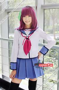 Angel Beats Nakamura Yuri Cosplay Wig Costume