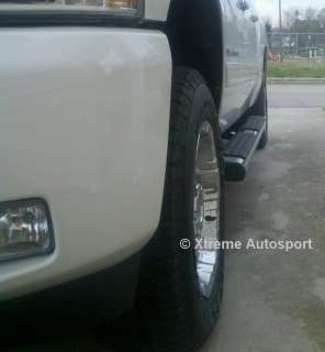 Silverado Extended Cab Running Boards 2007 2012 6 Oval FACTORY STYLE