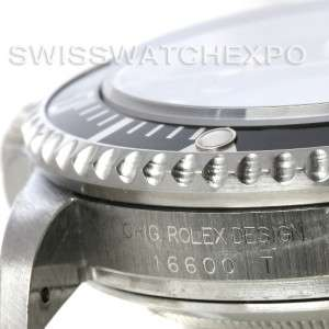 Rolex Seadweller Oyster Perpetual Stainless Steel Mens Watch 16600 T