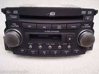 original acura radio tape and 6 cd changer brand new