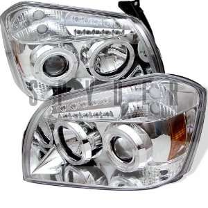 Dodge Magnum 2005 2006 2007 Halo LED Projector Headlights