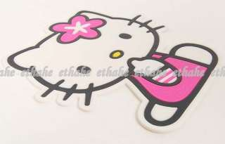 Hello Kitty Shaped Car Auto Dashboard Non Slip Mat AH3T