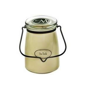 Milkhouse Beeswax Candle Butter Jar 22 oz Barn Dance