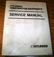 Hyundai HL35 Wheel Loader Service Repair Manual book