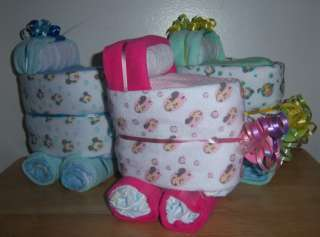 Mickey Mouse, Minnie, or Pluto Mini Diaper Bassinet, Baby Shower Favor