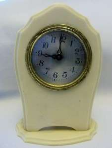 Vintage Art Deco Era Celluloid Clock