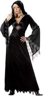Spider Robe Womens Vampire Halloween Costume